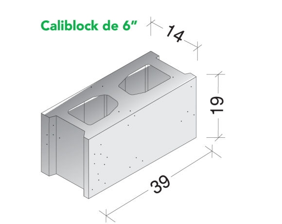 Caliblock 6″