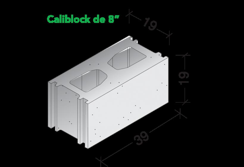 Caliblock 8″
